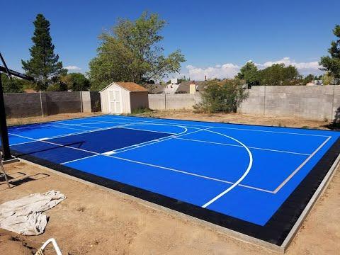 Versacourt Basketball court | unboxing this amazing court.