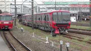 【名鉄】名鉄9100系第2弾が甲種輸送されました。(@豊橋駅フルバージョン)