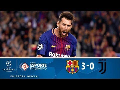 Melhores Momentos - Barcelona 3 X 0 Juventus - Champions League (12/09/2017)