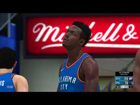 NBA 2K18-Oklahoma City Thunder vs Orlando Magic