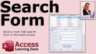 Microsoft Access Multi-Field Search Form