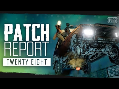PUBG - Patch Report - PC Update #28