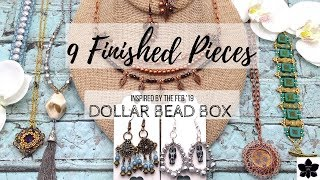 Finished Jewelry Update   Inspired by Feb '19 Dollar Bead Box   Beading Project Share