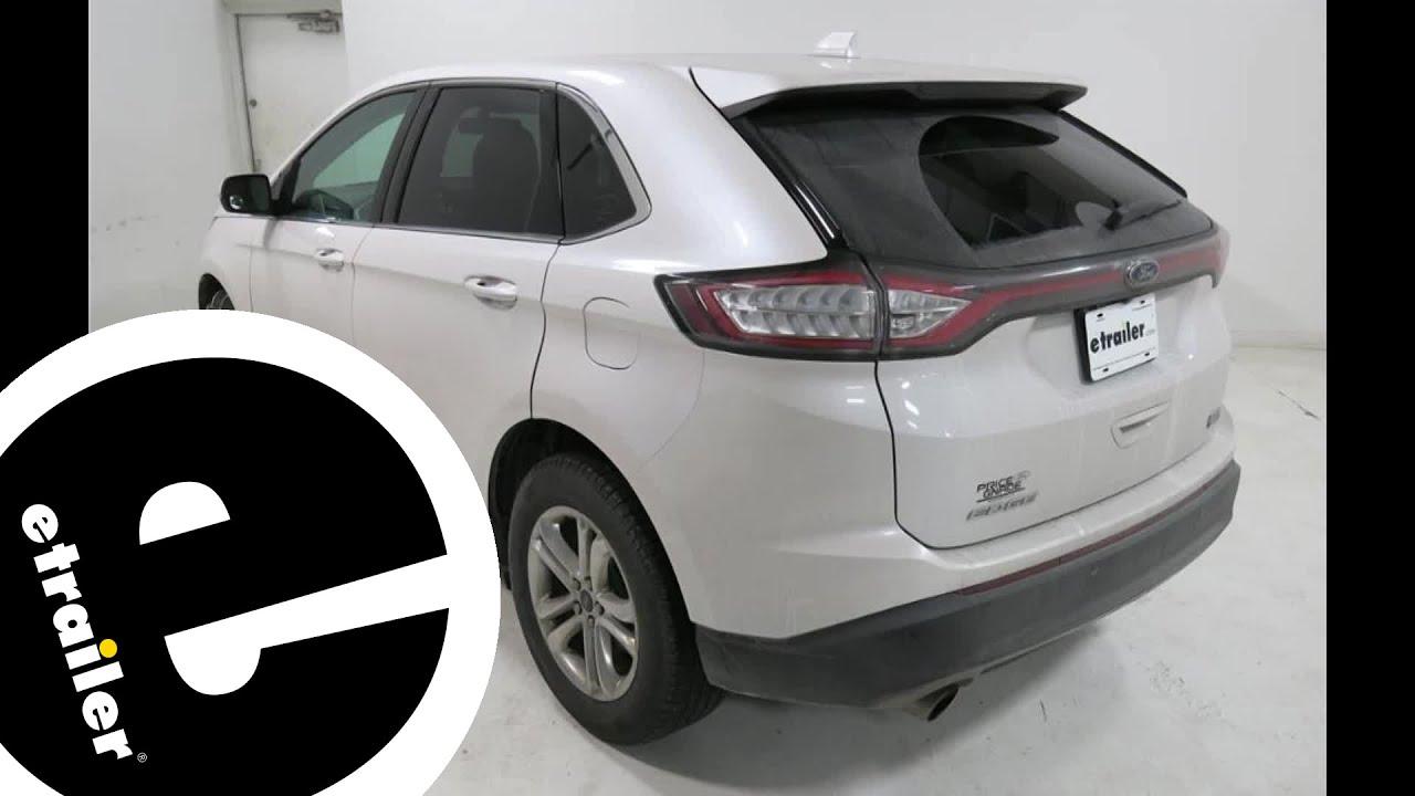 Glacier Cable Snow Tire Chains Review  Ford Edge Etrailer Com