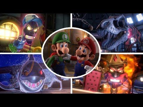 Luigi's Mansion 3 - All Bosses (No Damage)