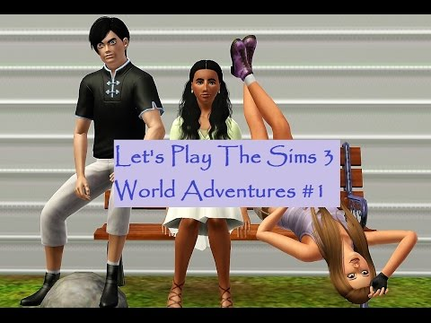 let 39 s play the sims 3 world adventures 1 meet the sims. Black Bedroom Furniture Sets. Home Design Ideas