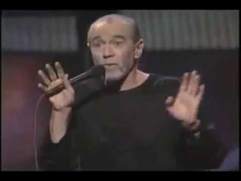 George Carlin - Arrogance of mankind - climate change, recycling plastics
