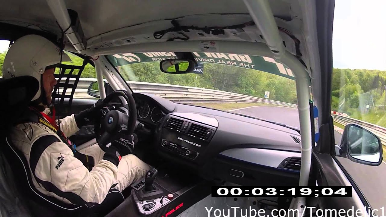 BMW M235i Racing on the Nordschleife BTG 740  YouTube