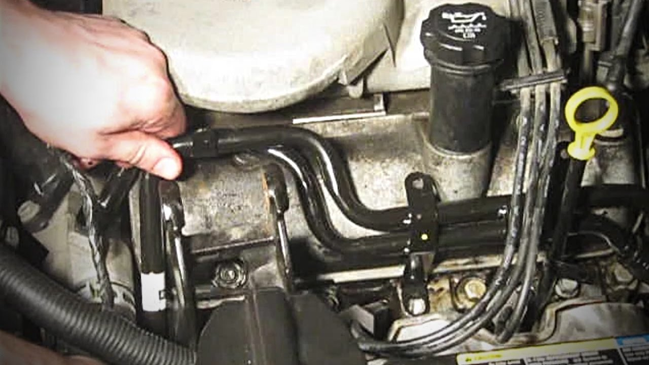 Coolant leak  Replacing heater core inlet and outlet hard lines  20062011 Chevy Impala  YouTube