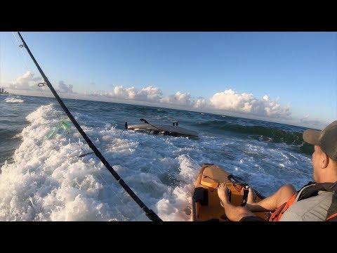 FLIPPED Kayak, Coast Guard, And King Fish!