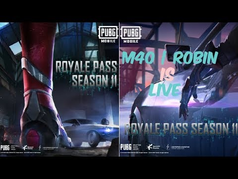 🔴PUBG MOBILE |SEASON 11 IS HERE|RUSH GAMEPLAY BY ROBIN