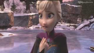 jack frost and elsa but now you re gone away