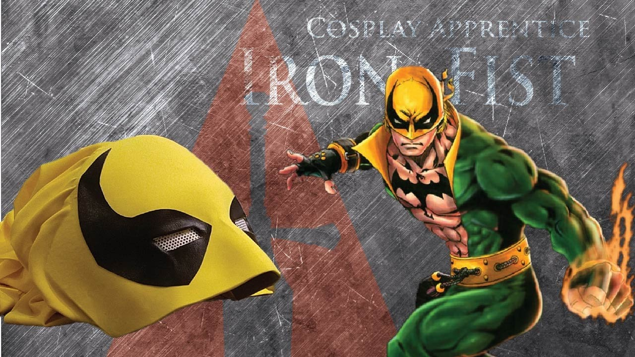 How To Make Iron Fist Mask Youtube
