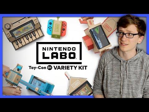 Nintendo Labo | Adventures with the Variety Kit - Scott The Woz