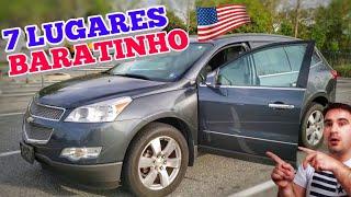 CARRÃO BARATO 😉 Traverse 7 LUGARES