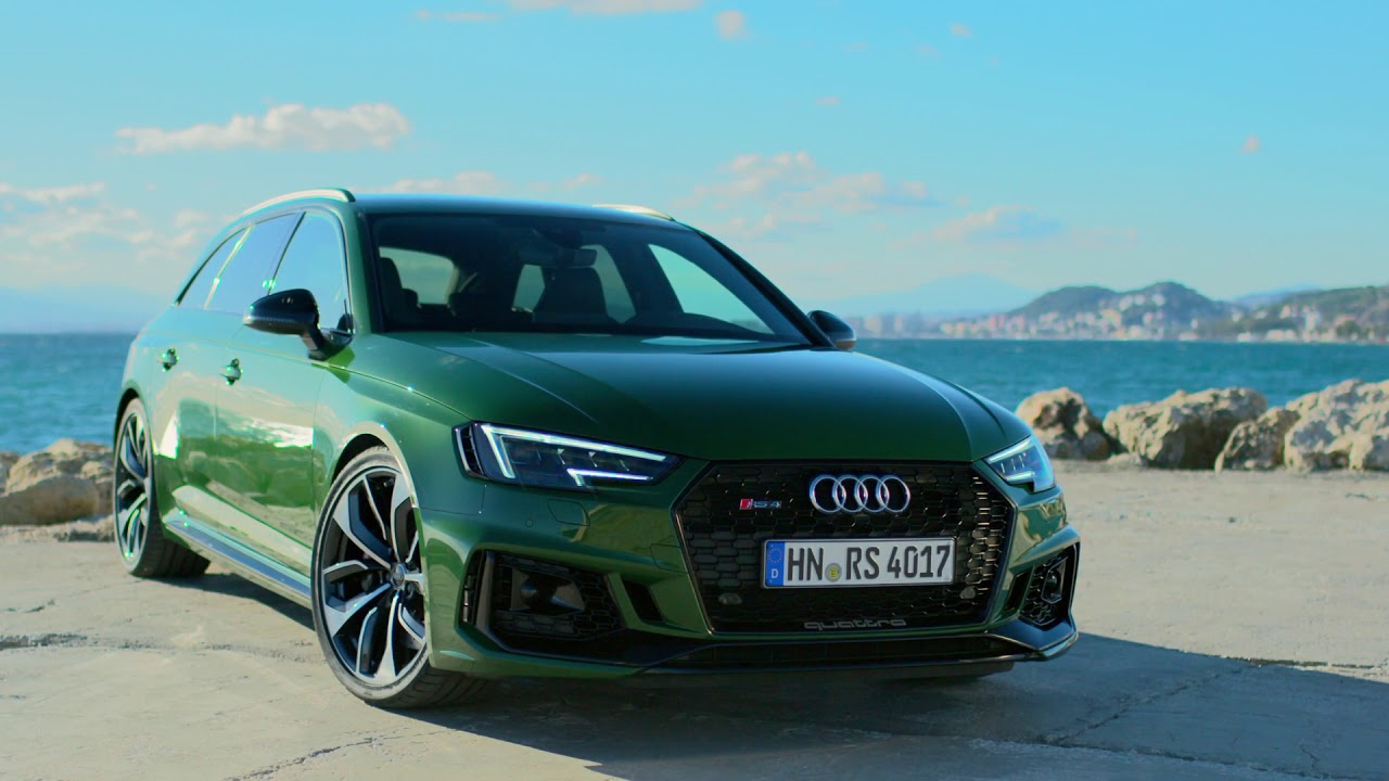 new audi rs4 avant sonoma green driving footage youtube. Black Bedroom Furniture Sets. Home Design Ideas