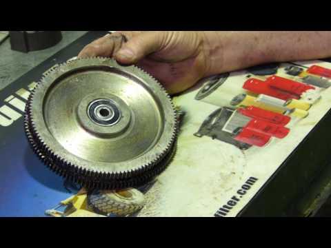 Kangaroo Stew # 42 Lathe Gear Bearing Boss Repair.