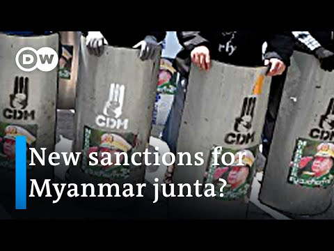 US mulls new sanctions against Myanmar junta | DW News