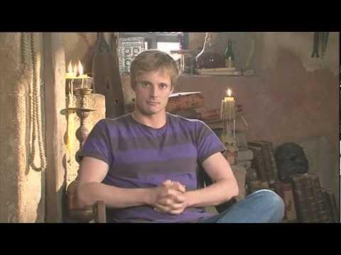 Bradley James Arthur Welcome Message  Merlin