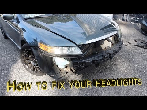 how to fix your hid headlights how to change your hid ballast and Brembo Acura TL how to fix your hid headlights how to change your hid ballast and ignitor