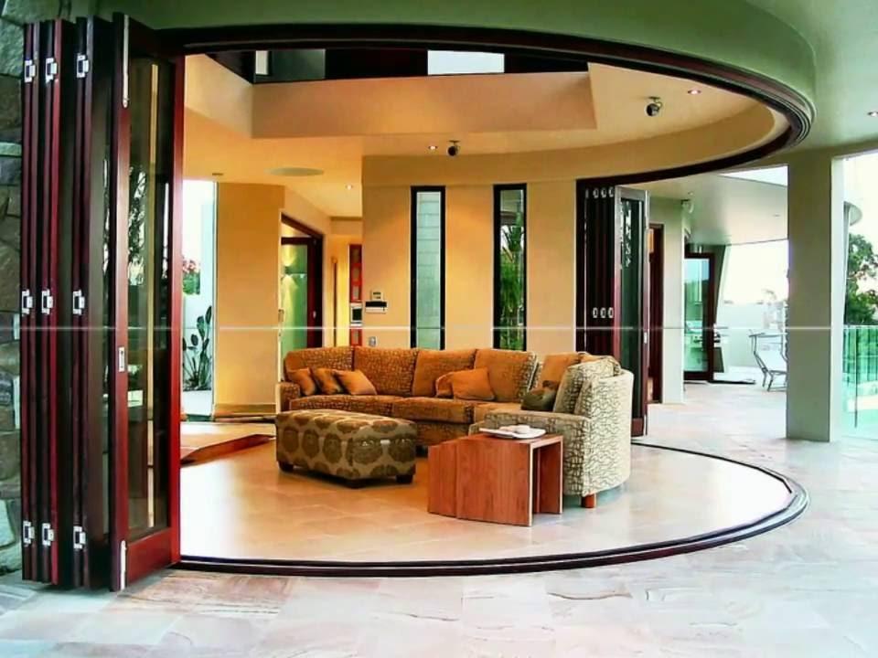 Panoramic Folding Patio Door Design Ideas Youtube