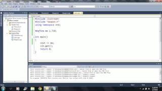 Lesson 67: #define. Beginning Programming with Visual Studio C++ 2010
