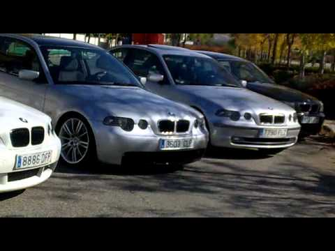 bmwfaq e46 kdd bmw compact e46 2011 madrid youtube. Black Bedroom Furniture Sets. Home Design Ideas
