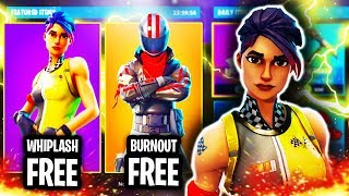 "NEW ""WHIPLASH"" SKIN IN FORTNITE! UNLOCK FREE WHIPLASH SKIN IN FORTNITE BATTLE ROYALE! (WHIPLASH)"