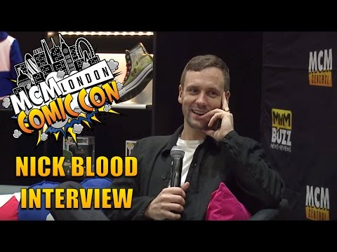 Agents Of SHIELD's Nick Blood @ MCM London Comic Con