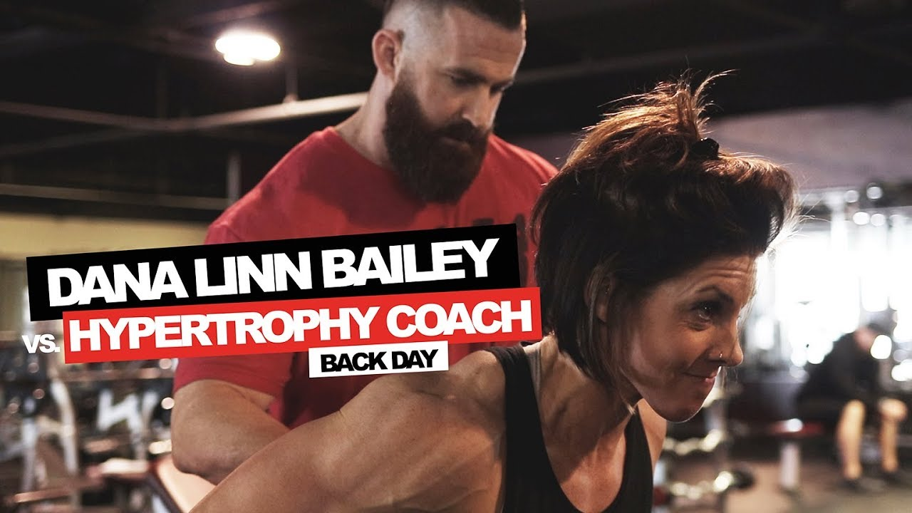 DLB vs  HYPERTROPHY COACH | BACK - Run Everything Labs