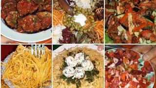 Топ 6 салатов на праздничный стол/Салаты