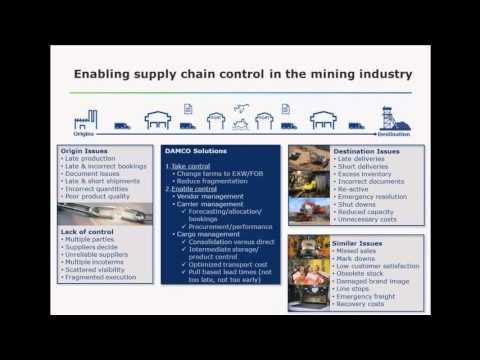 Webinar - Mining Industry: Driving supply chain efficiencies in a bearish commodity market
