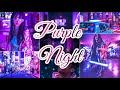 How To Edit Purple Night Preset / Lightroom Mobile tutorial _-_ Preset DNJ 2020
