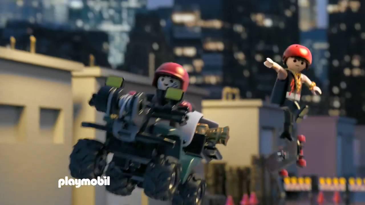 Playmobil police commissariat de police avec prison - Playmobile policier ...