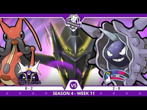 SKILLESS LINK! | Minnesota Vikavolts VS Montreal Toucannadiens NPA S4 W11  | Pokemon Ultra S/M