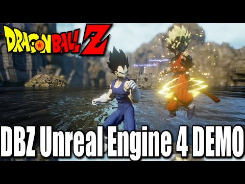 Dragon Ball Z Unreal 4 Engine Demo + Download Link!! SUPPORT THIS!!