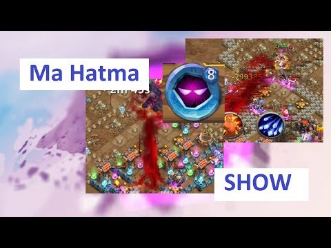 SUPER MA HATMA VS Dungeons Castle Clash