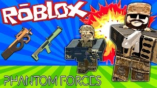 HAVING A BLAST!! | Roblox Phantom Forces Funny Moments