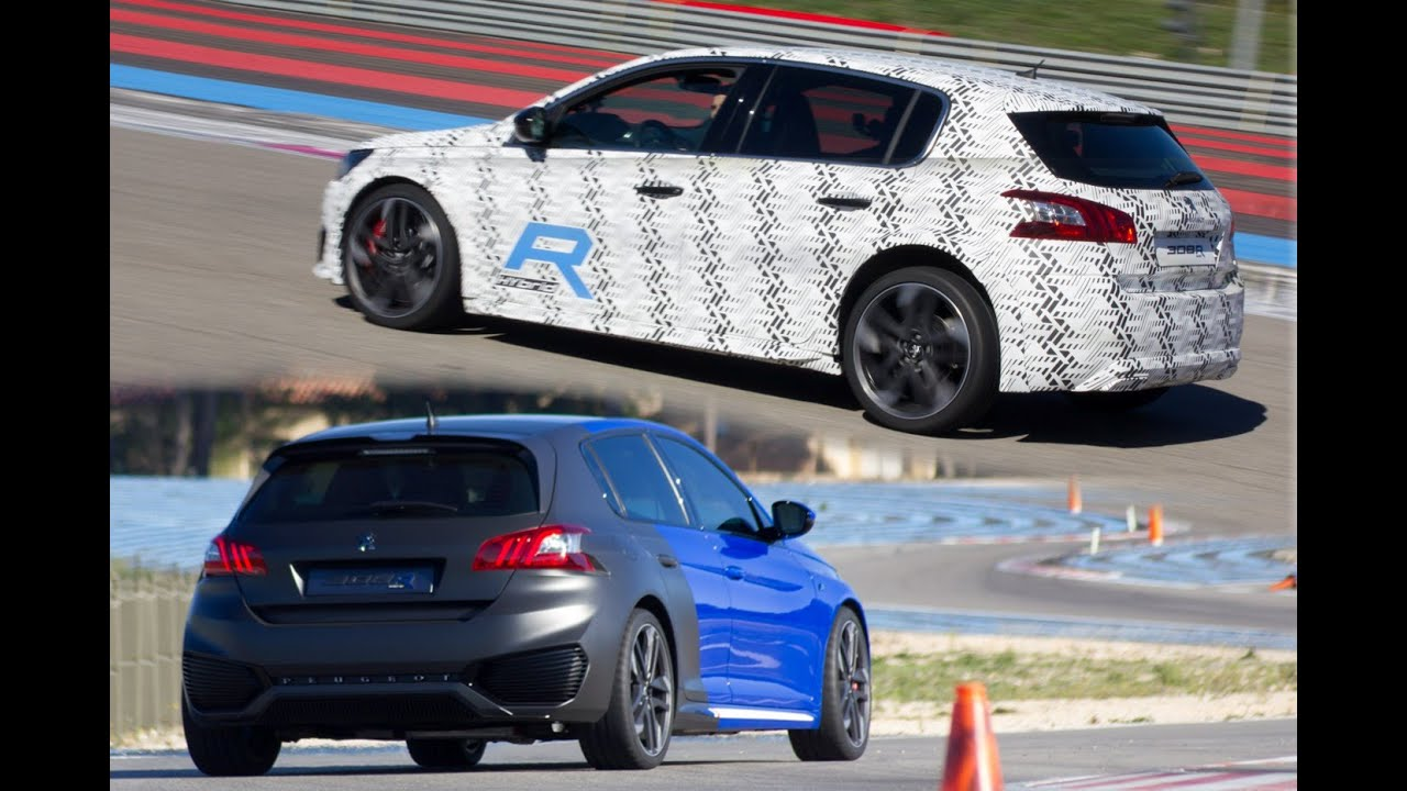 peugeot 308 r hybrid concept car et prototype au castellet youtube. Black Bedroom Furniture Sets. Home Design Ideas