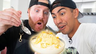 $6 vs $80 Gold-Covered Ice Cream | Expert Reacts
