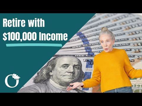 How Much Do You Need To Save In Order To Retire With a $100,00 Income | Calculate Your Retirement $$