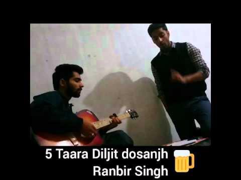5 Taara Unplugged Diljit Dosanjh / Harry J singh /Latest Punjabi songs 2015