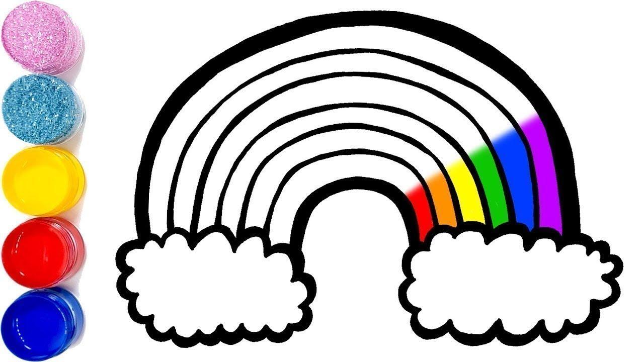 Dessiner Et Colorier Apprendre Les Couleurs Avec Des Coloriages Arc En Ciel Planete Coloriage Youtube