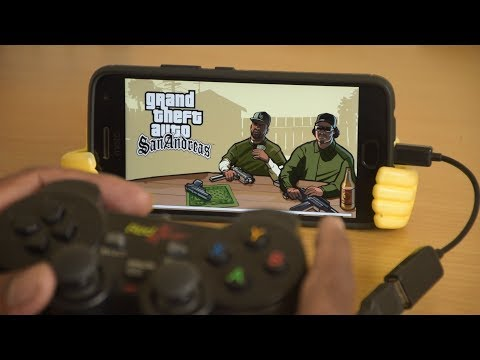 Play Android Games Using Cheapest Red Gear Gamepad/Controller