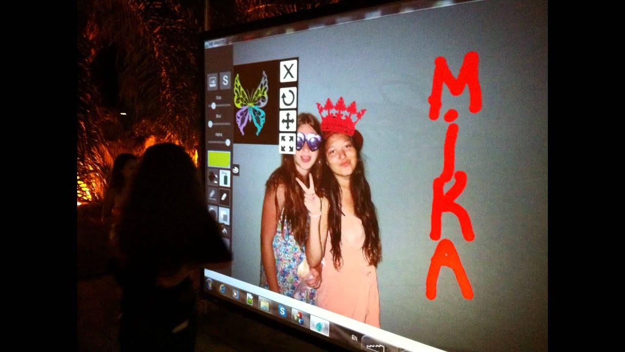 Digital wall graffiti - Air Graffiti Digital Graffiti Wall Bar Mitzvah