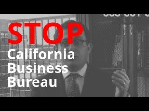 California Business Bureau Calling? | Debt Abuse + Harassment Lawyer