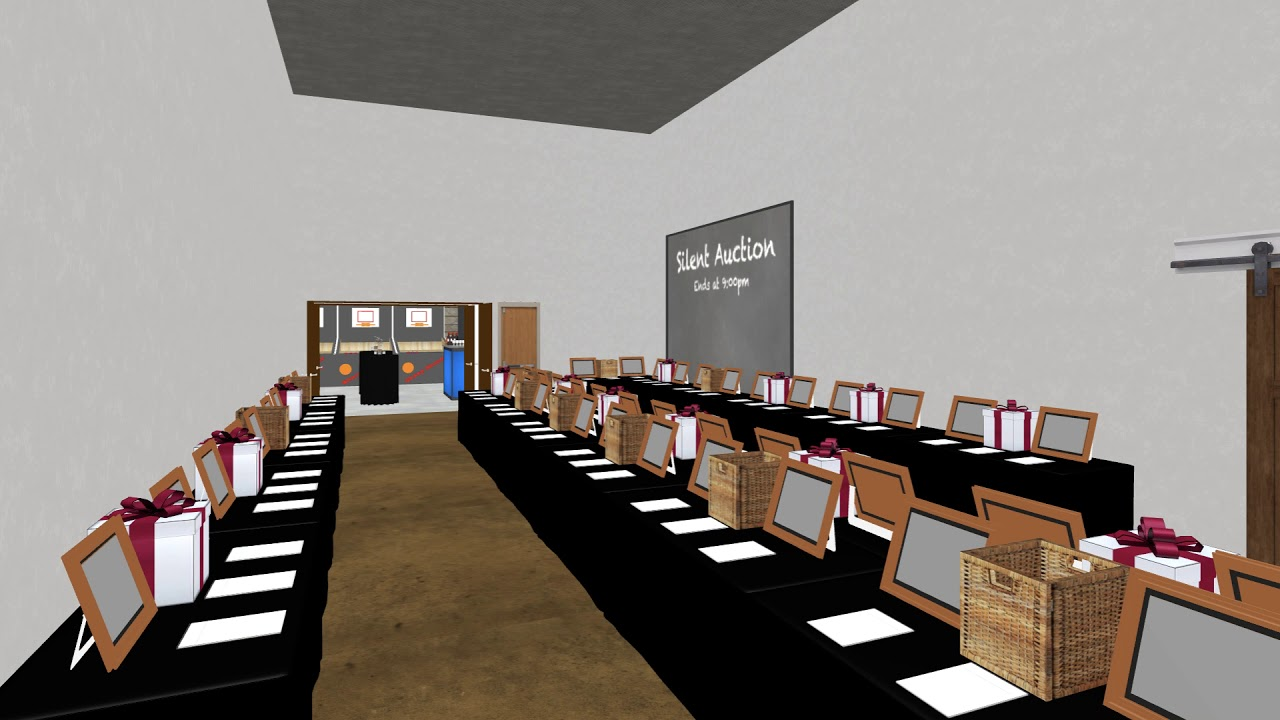 walk through your event in realistic 3d