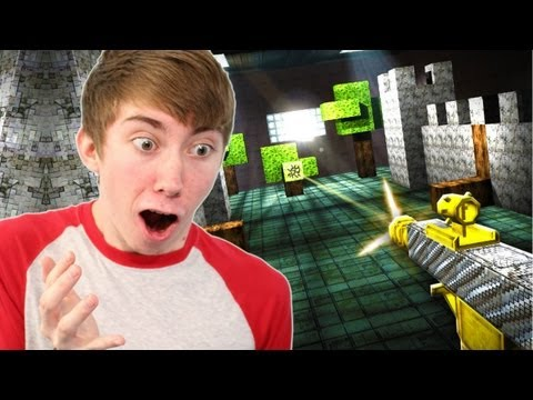 Guncrafter - MINECRAFT WITH GUNS - Part 1 (iPhone Gameplay Video)