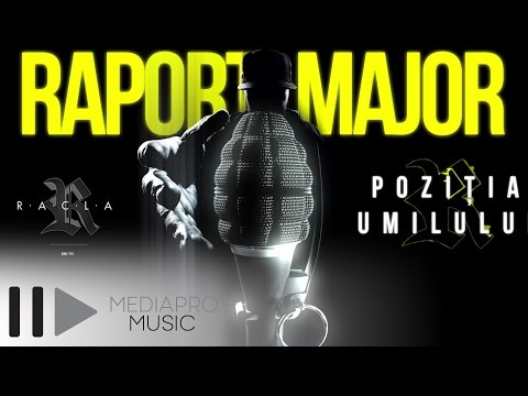 R.A.C.L.A. – Poziția umilului ft. Cedry2k (Graphics video)