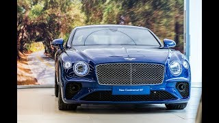 Unloading the New 2019 Bentley Continental GT and a quick walkaround!